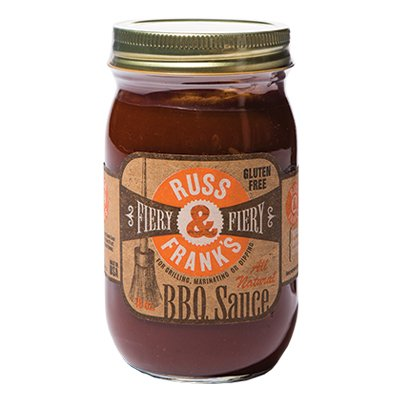 <strong>Russ & Frank's</strong> | <em>Fiery Sauce</em> | You can smell the heat when you lift the lid.