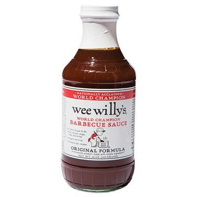 <strong>Wee Willy's</strong> | <em>Original Formula</em> | Cooking this solid sauce since 2002.