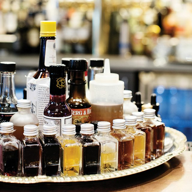 Barbecue sauces at Handsome Hog
