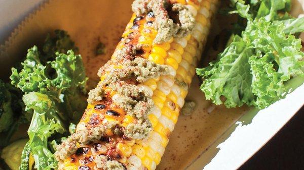 Roast corn from Tatanka Truck.