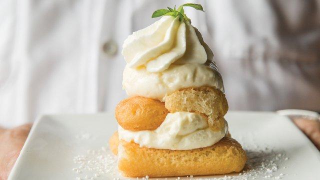 The Butcher Block pastery dessert