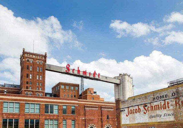 Historic Schmidt Brewery