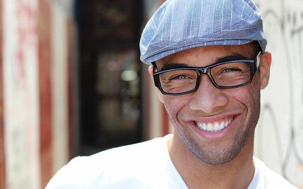 Guy in hat smiling