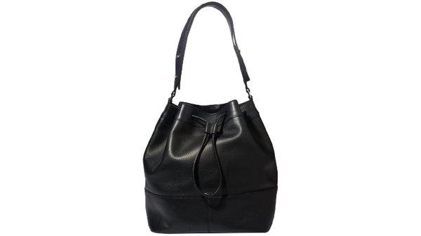 Convertible drawstring bucket bag