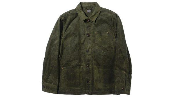 Waxed chore coat