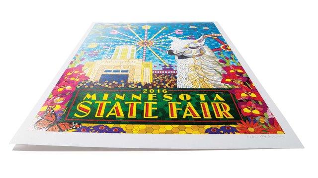 State Fair 2016 Mosaic Poster
