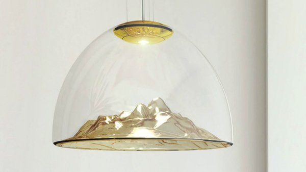 Mountain View suspension light