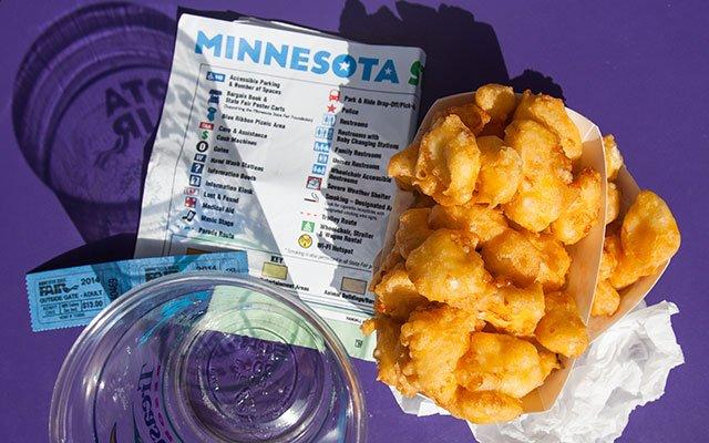 Minnesota State Fair Cheese Curds