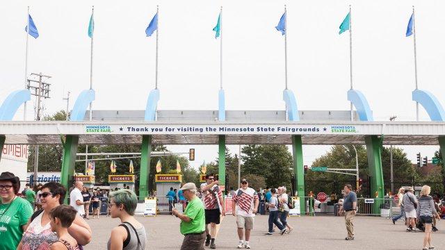 State Fairgrounds Entrance