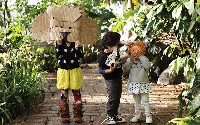 Kids at Como Zoo