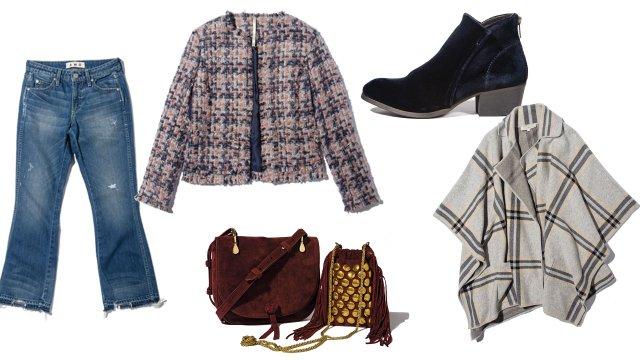 Fall fashion items