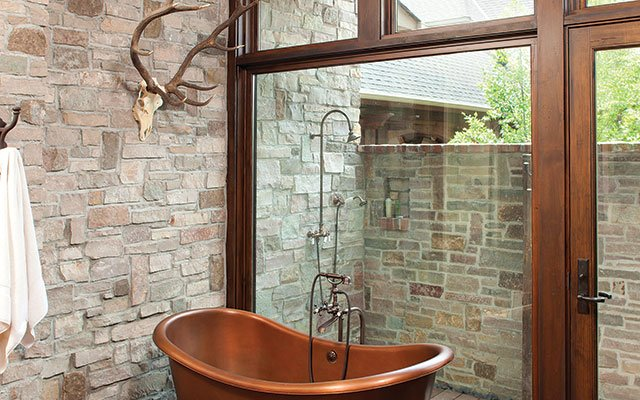 Bathroom by John Kraemer & Sons