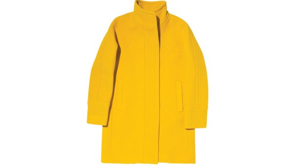 Stadium cloth cocoon coat