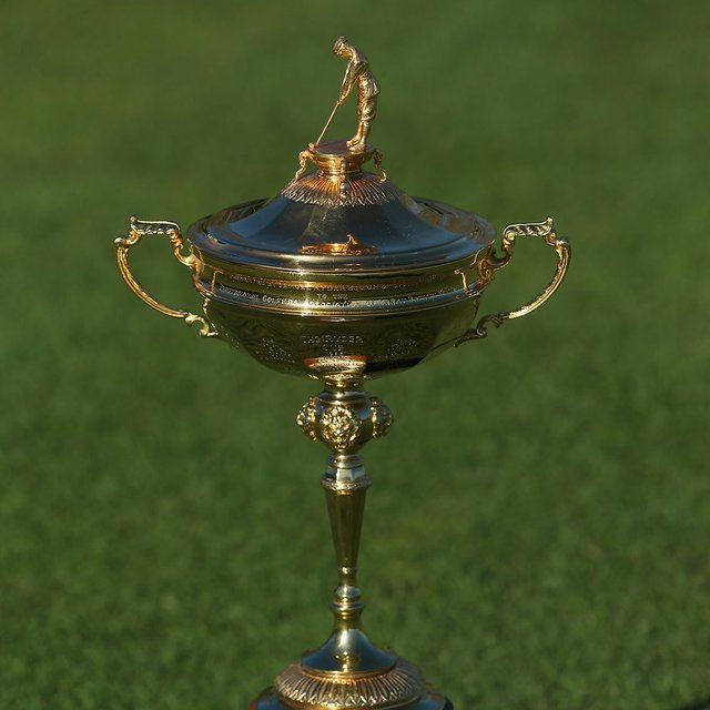 Image result for ryder cup trophy