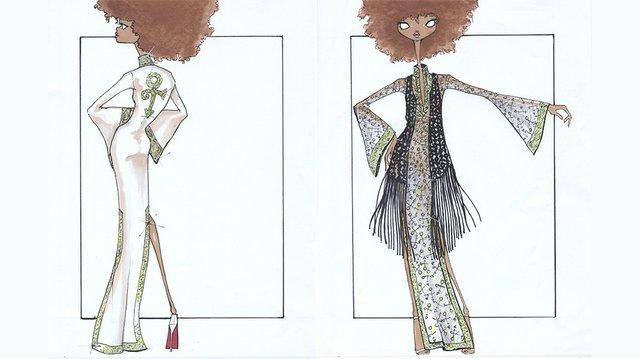 Fashionopolis Mia Prince Sketch by Mariette Brigitte