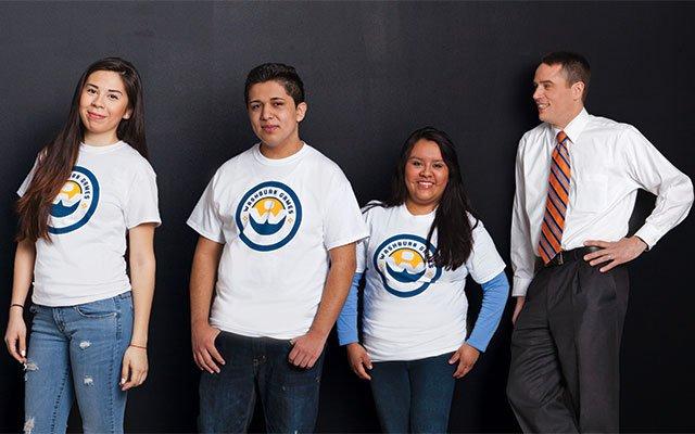 Principal Jeb Myers and Students, Cristo Rey Jesuit High School