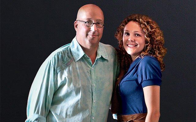 Andrew Zimmern and Rishia Zimmern