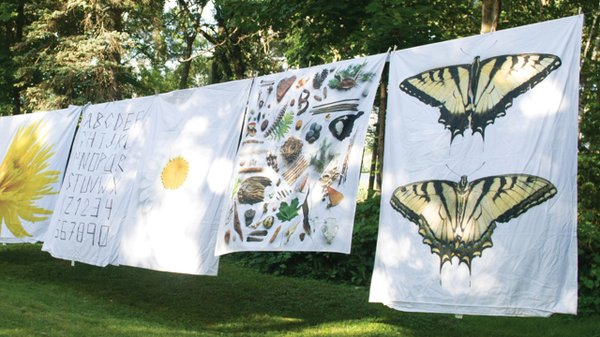 Mary Jo Hoffman nature photos onto bedding