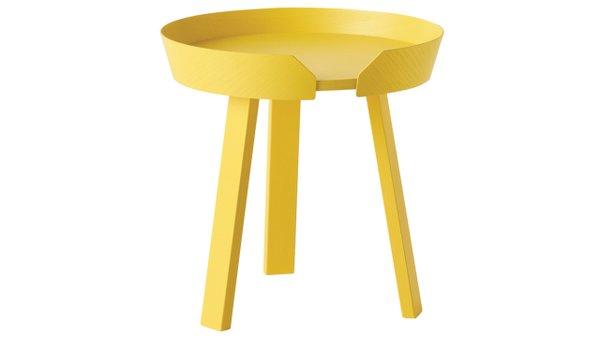 Yellow Muuto table