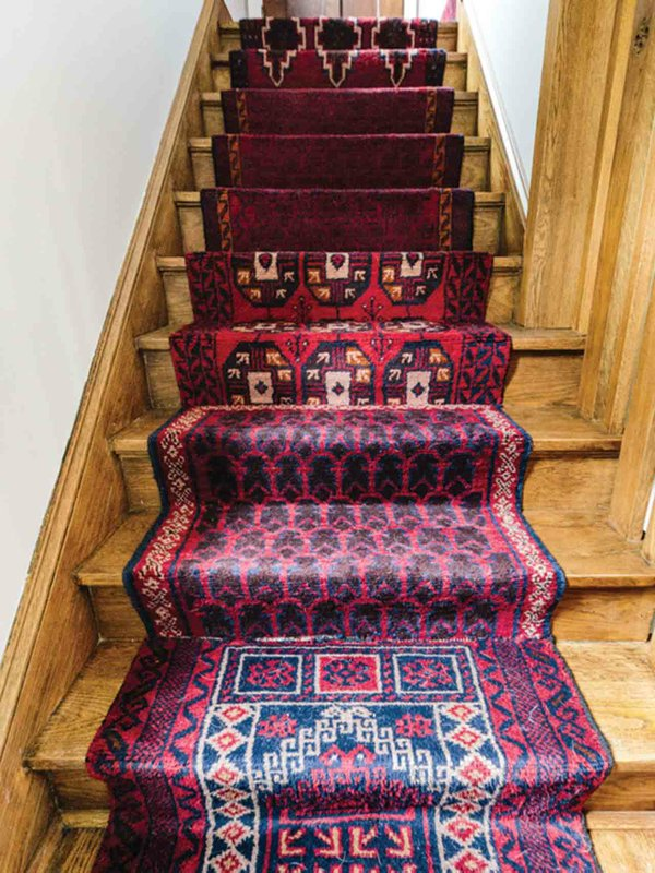 Kate Arends stair runner