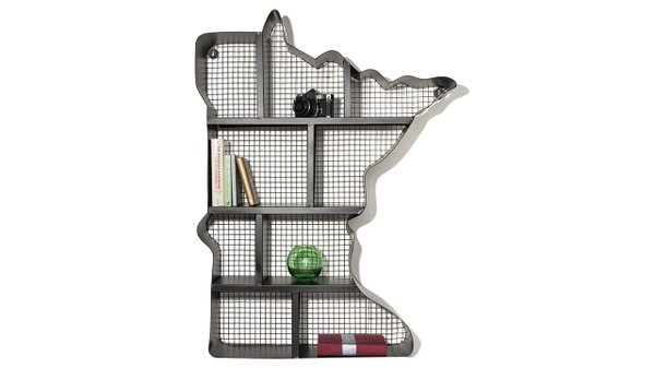 Lori Henson sturdy metal shelves