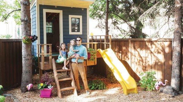 Drew Wood playhouse