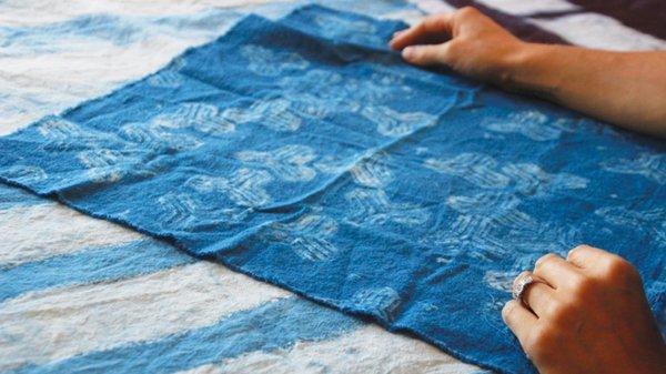 Annabella Sardelis textile designer