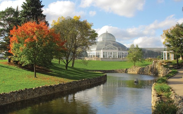 Marjorie McNeely Conservatory at Como Park, St. Paul