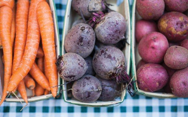 Organic Vegetables From Gardens Of Eagan