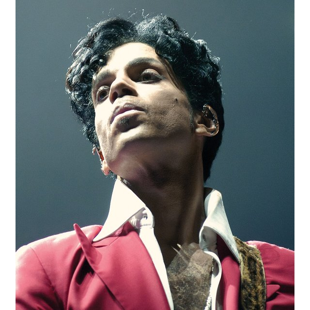Prince performing at the Essence Music Festival