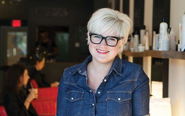 Katie Steller-Schultz of Steller Hair Company