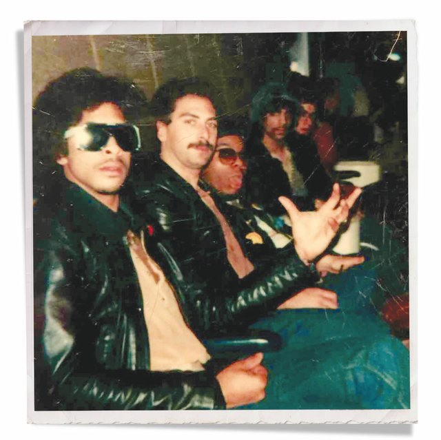 Andre Cymone, Bobby Z, Dez Dickerson, Prince, and Matt Fink in 1980
