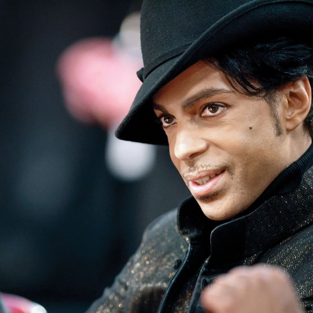 Prince in Las Vegas Feb 2007