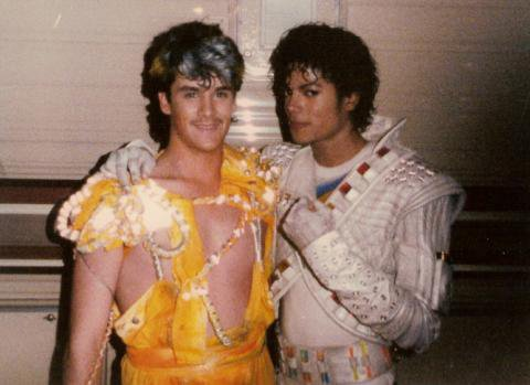 Barry Lather and Michael Jackson
