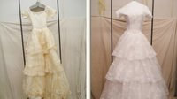 Treasured Garment Restoration, wedding dress