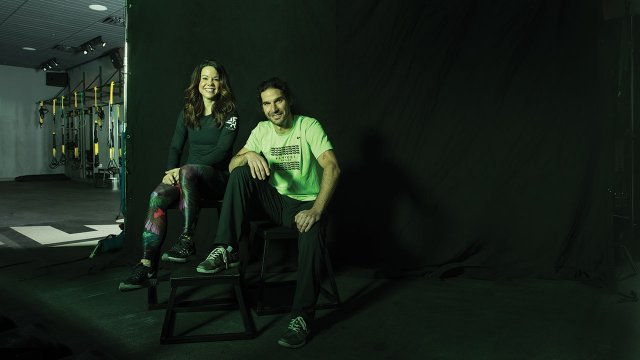 Kristin Shane and Aaron Leventhal of Fly Feet in Minneapolis