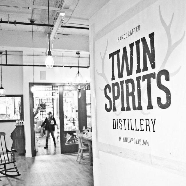 Twin Spirits Distillery Front Door