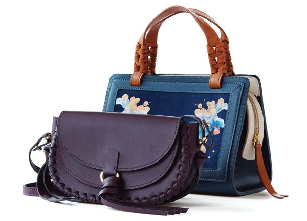 Purses made by Danielle Sakry