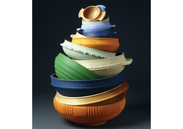 Wooden bowls from J. Sannerud Studios