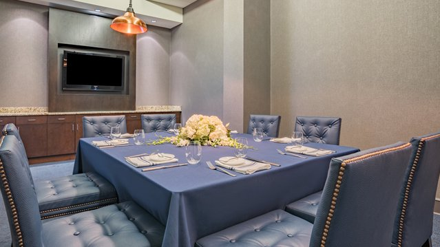 Private dining room at Bloomington Chophouse
