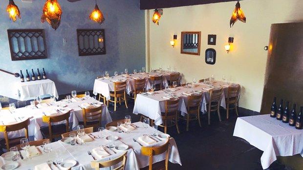 Dining room at Al Vento