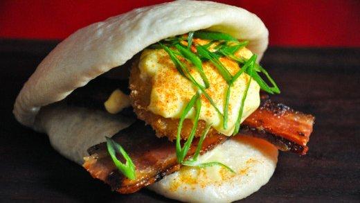 Moto-i's Japanese egg sandwich