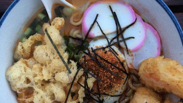 Moto-i's miso tempura ramen