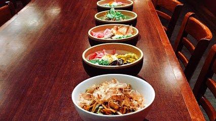 Ramen bowls at Moto-i