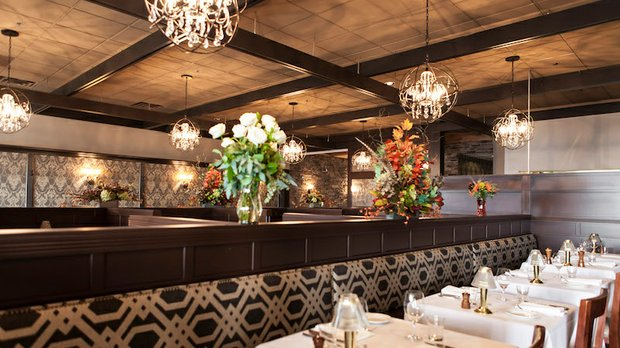 Gianni's Steakhouse dining area