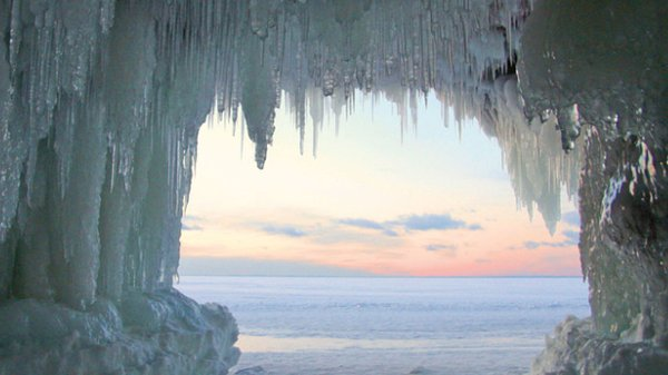 Ice caves of the Apostle Islands