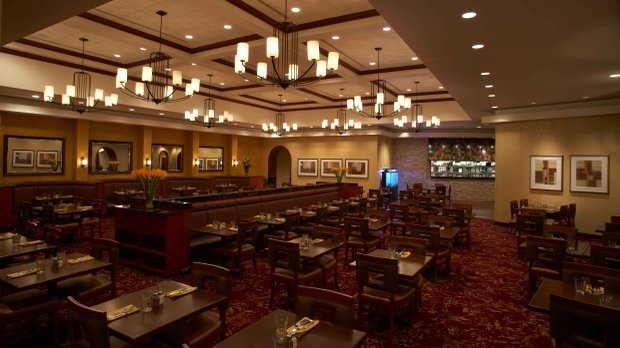 Mystic Steakhouse's dining room