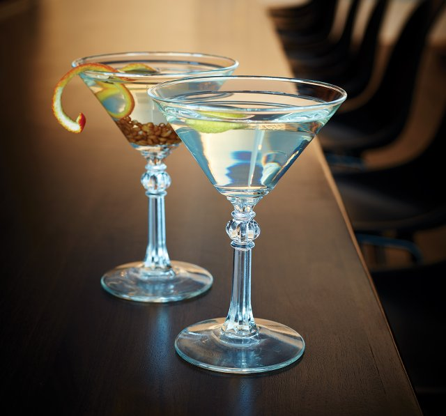 Martinis at Esker Grove