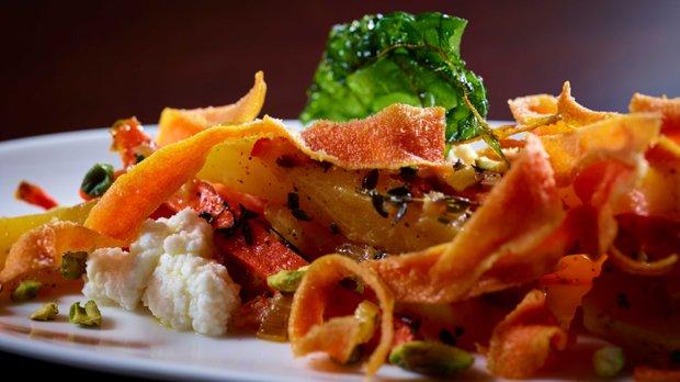 A signature veggie dish at Citizen Supper Club