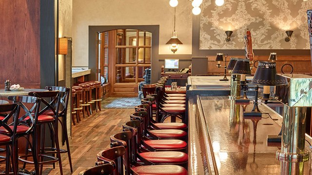A view of the remodeled dining area at Normandy Kitchen in Minneapolis